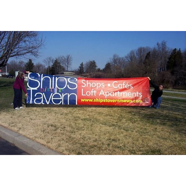 Affordable outdoor vinyl banners